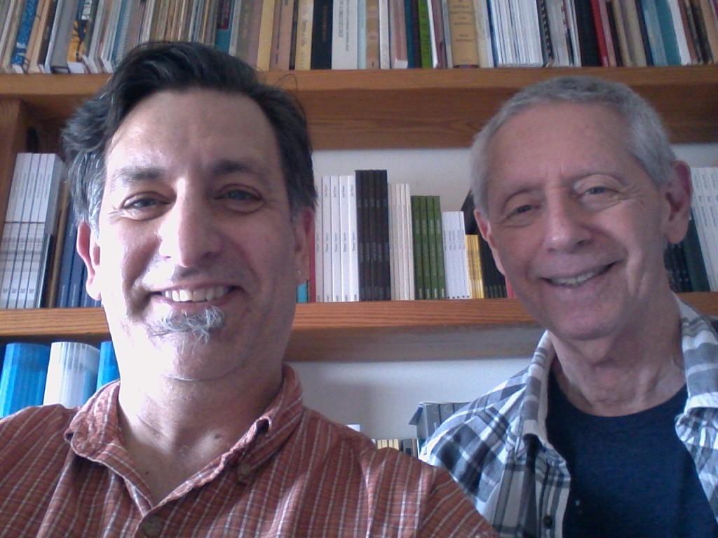 Paul Nelson with José Kozer, January 19, 2015, Hallendale Beach, FL