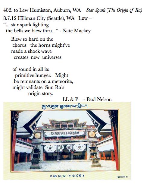 402. to Lew Humiston, Auburn, WA – Star Spark (The Origin of Ra?)