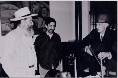 Charles Potts, PN and Ed Dorn