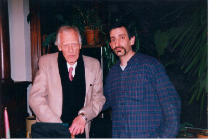 Ed Dorn, PN 3.9.99, photo by Jim Bodeen