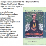 430. to Morgan Harlow, Barneveld, WI – Emperor of Wind