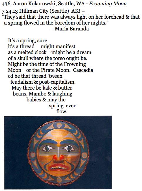 436. Aaron Kokorowski, Seattle, WA - Frowning Moon