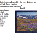 455. Heather Mydosh, Independence, KS - Kerouac & Moonrise