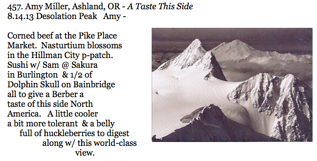 457. Amy Miller, Ashland, OR - A Taste This Side
