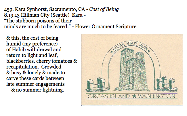 459. Kara Synhorst, Sacramento, CA - Cost of Being