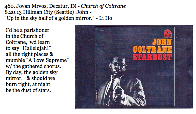 460. Jovan Mrvos, Decatur, IN - Church of Coltrane