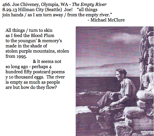 466. Joe Chiveney, Olympia, WA - The Empty River