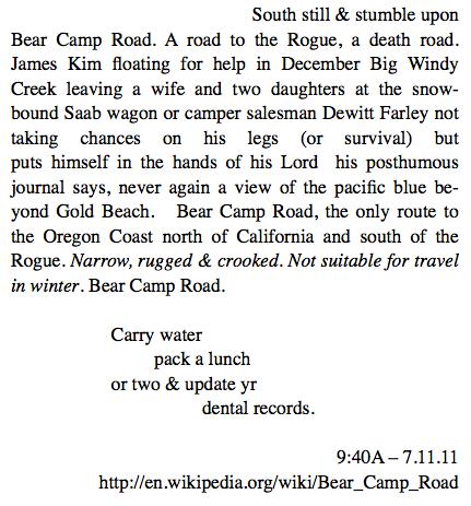 32. Bear Camp Road (2)