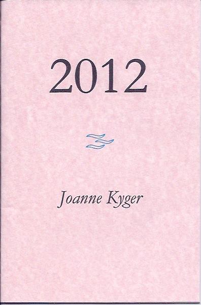 2012 Cover (Joanne Kyger)