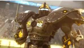 Fox Sports Football Robot