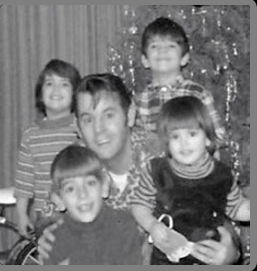 Barbara, Paul Jr. Paul Sr. Andrew and Linda Nelson 1968?
