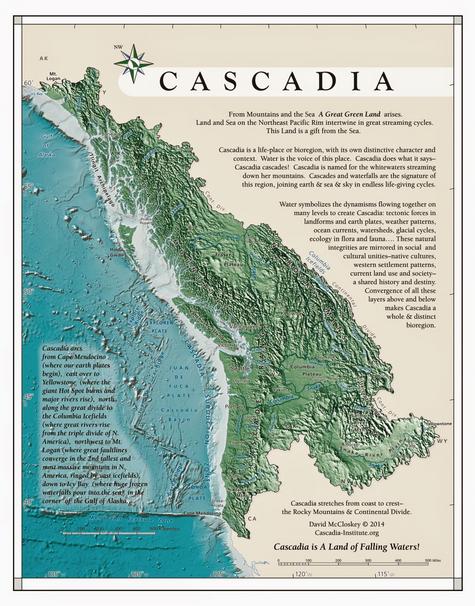 McCloskey Cascadia Map