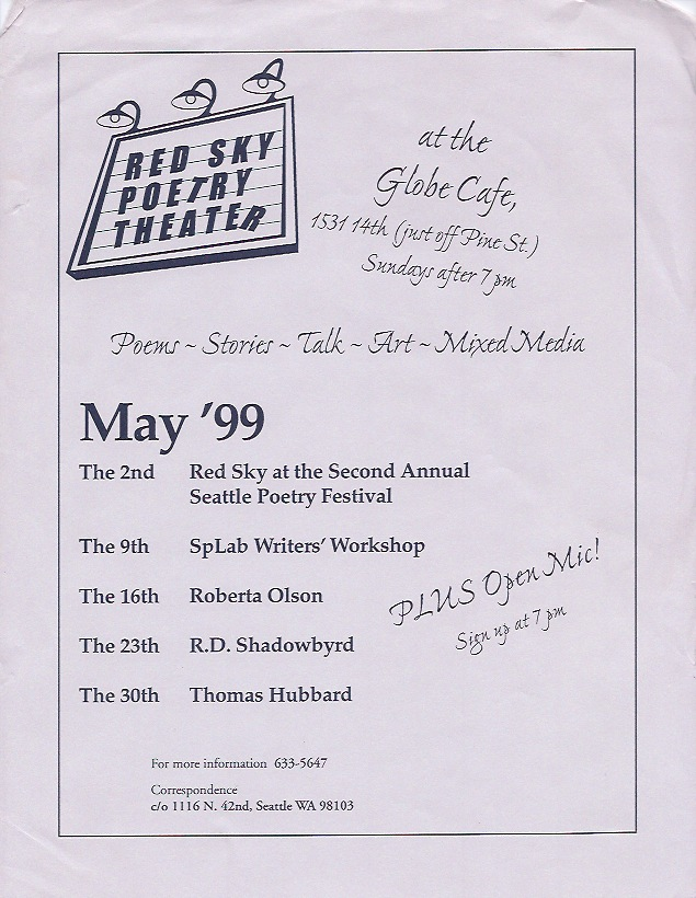 May Red Sky Flyer (1999)
