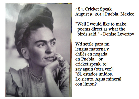484. Cricket Speak