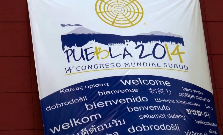 Subud World Congress banner