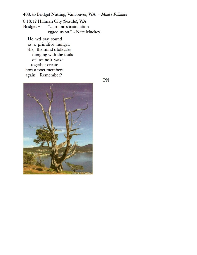 408. to Bridget Nutting, Vancouer, WA – Mind's Folktales