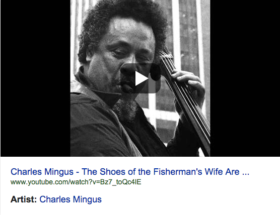 Chrles Mingus The Shoes of the Fisherman's Wife