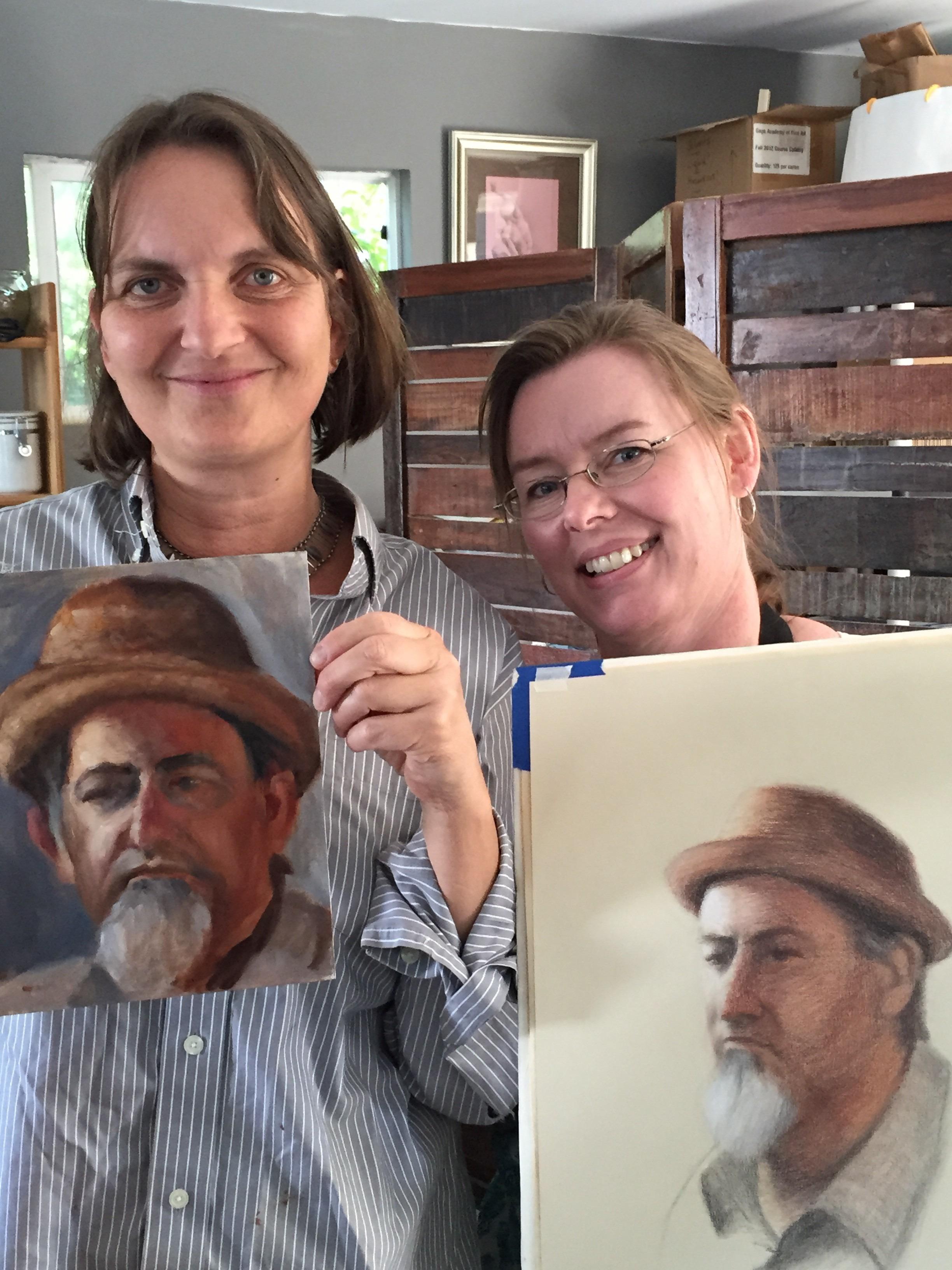 Karen Roth and Amanda Teicher