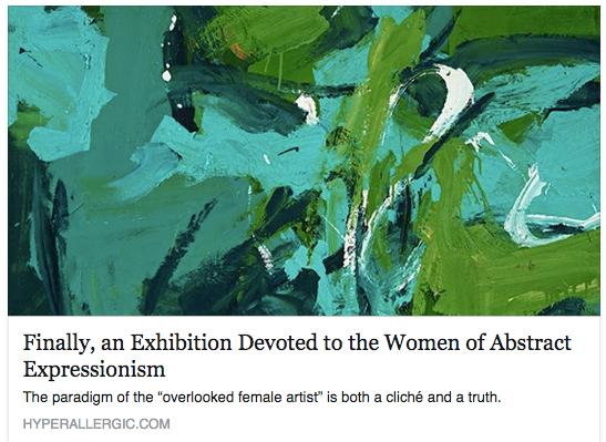 Finally, An Exhibition