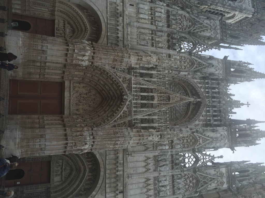 Rouen Cathedral, Oct 2015