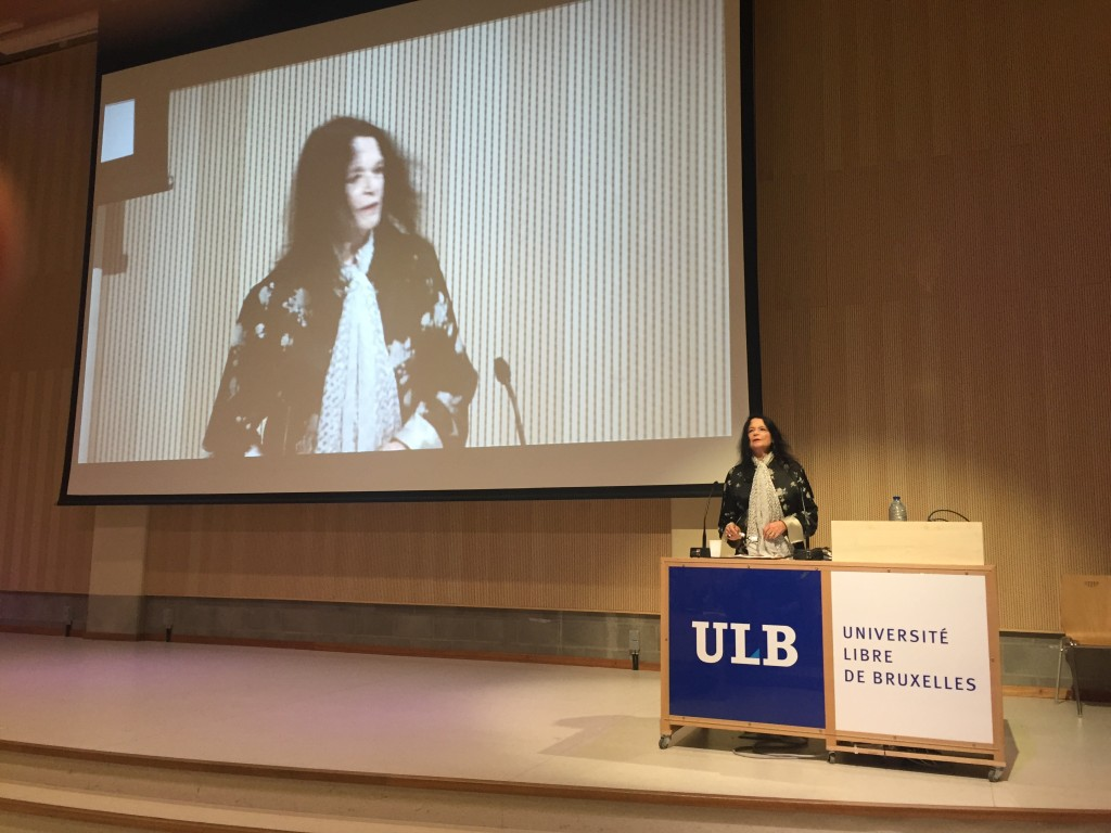 Anne Waldman at EBSN4, Brussels, Belgium, October, 2015