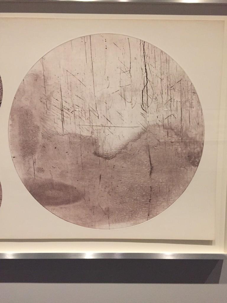 Michael Heizer from Scrap Metal Drypoint series, 1978.