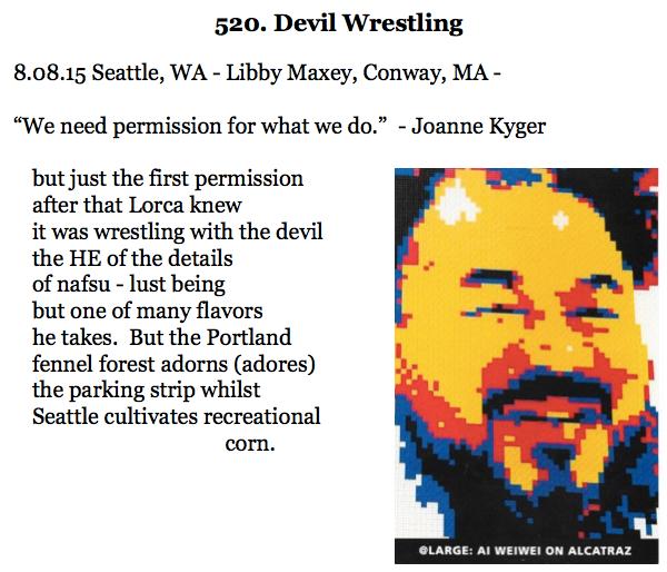 520. Devil Wrestling
