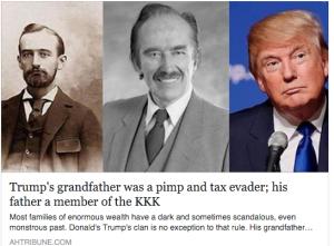 Trump's Grandfather