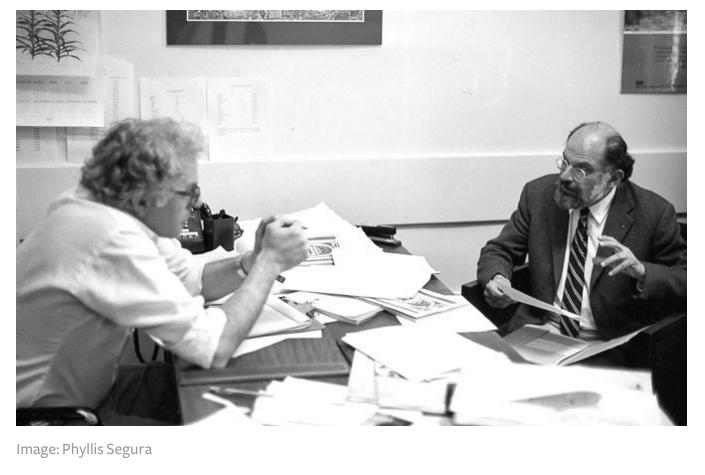 Bernie Sanders and Allen Ginsberg