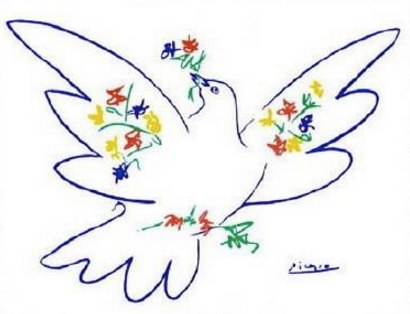 Picasso Peace Bird