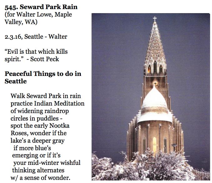 545. Seward Park Rain