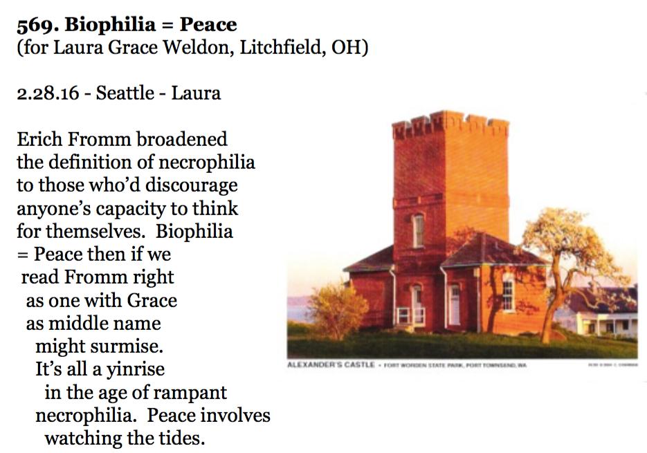 569. Biophilia = Peace