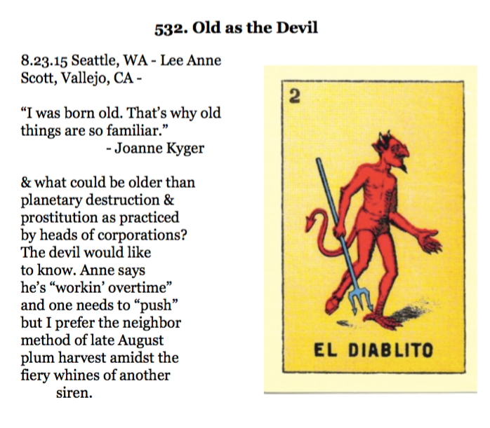 532. Old as the Devil