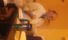 Tim McNulty at Levertov Panel